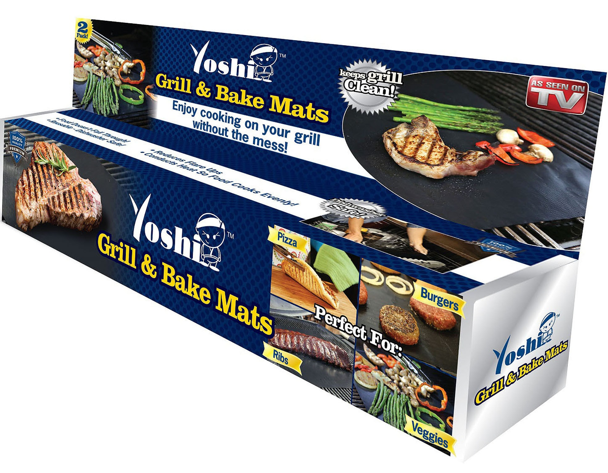 Review: Yoshi Grill And Bake – Copper Grilling Mat